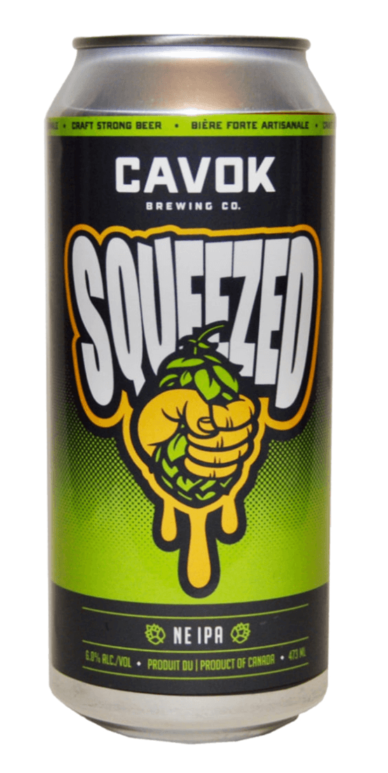 "visual of  ""Squeezed"" beer can"