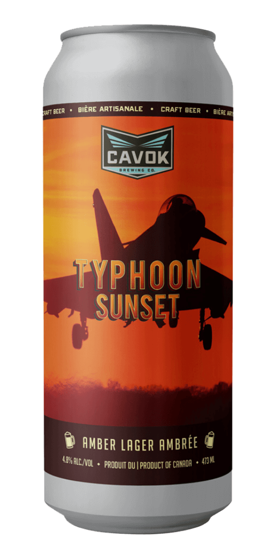 Typhoon sunset, Amber lager